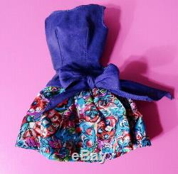 Ultra Rare Variation Vintage Barbie Best Bow Outdoor Art Show Dress MINT