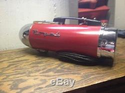 Ultra Rare Vintage 1947 Royal Rocket Nos Space Age Vacume Cleaner In Box Mint