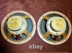 Ultra Rare Vintage 1968 Richard Allan 1014 full range drivers Made in England