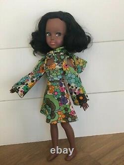Ultra Rare! Vintage 1970's 17 AA African American Uneeda Jennifer Doll WOW