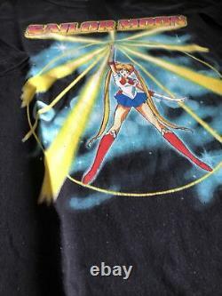 Ultra Rare Vintage 1999 Sailor Moon Naoko Takeuchi Kodansha Anime T-shirt Sz XL