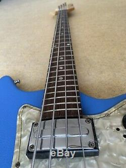 Ultra Rare Vintage 60s Rosetti Bass 9 4 String Electric Guitar Retro Cool Egmond
