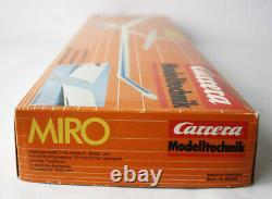 Ultra Rare Vintage 80's Carrera Modelltechnik Miro Plane Freeflight Germany New