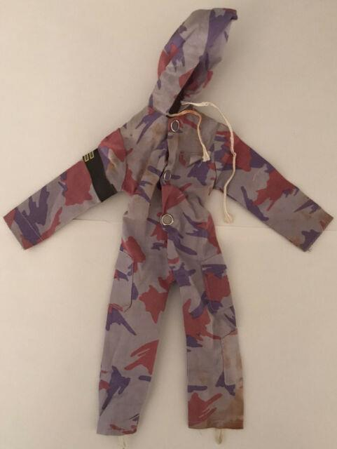 Ultra Rare Vintage Action Man Missile Assault Jumpsuit Only Special Team Palitoy