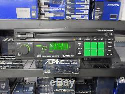 Ultra Rare Vintage Alpine 7909 AM FM CD Stereo Radio NOS USA Model
