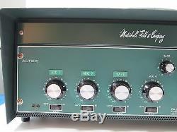 Ultra Rare Vintage Altec Mixer Power Amplifier 1606b Voice Communication System