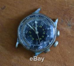 Ultra Rare Vintage BULOVA A-15 Military Issue Pilots Watch Original Condition