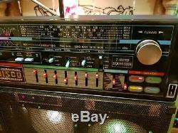 Ultra Rare Vintage Boombox DISCOLITE
