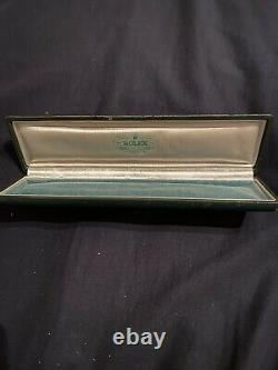 Ultra Rare Vintage Bubbleback Ovetto Rolex Box