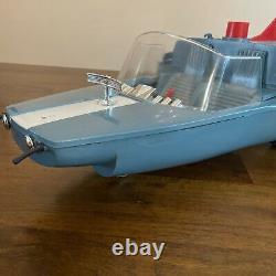 Ultra Rare Vintage Captain Action Original Silver Streak Vehicle Toy 1967