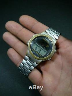 Ultra Rare Vintage Casio Moon Graph GMW-60 Module 832 Watch 15 Moonphase Phase