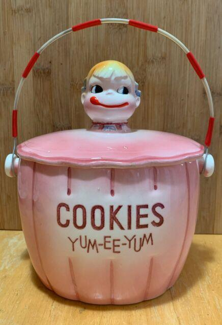 Ultra Rare Vintage Collectible Cookie Jar Yum-ee-yum