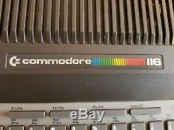 Ultra Rare Vintage Commodore 116 Computer System (mint)