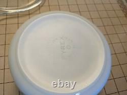 Ultra Rare Vintage Corning Glass Works Pyrex PA Employee Event Dish with Lid
