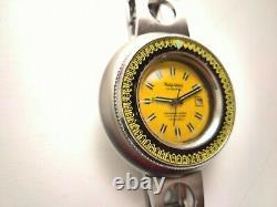Ultra Rare Vintage Diver Philip Caribbean Watch 2000 Ref 709 Huge 50mm Look@pics