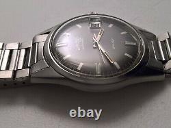Ultra Rare Vintage Eberhard Scafodat With Bracelet Scafograf Contograf