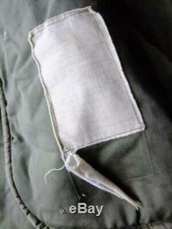 Ultra Rare Vintage Extreme Cold Weather M1948 M48 US Army Fishtail Parka Shell