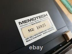 Ultra Rare Vintage Memotech Mtx 512 Computer System (mint)