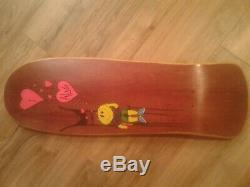 Ultra Rare Vintage NOS ALVA 1990 Team Model Kicknose skateboard deck