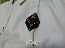 Ultra Rare! Vintage NeXT Cube Computer Logo Canon Jacket M Size Apple Macintosh