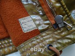 Ultra Rare Vintage STONE ISLAND Jacket Rubber M Medium 80'S Archive 1987 SS87