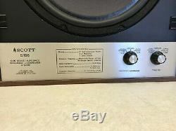 Ultra Rare Vintage Scott S196 Controlled Impedance Widerange Loudspeaker System