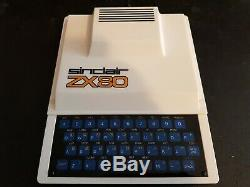 Ultra Rare Vintage Sinclair Zx80 Computer System (mint Boxed)