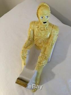 Ultra-Rare, Vintage Star Wars C-3PO Ceramic Tape Dispenser Mint In Box