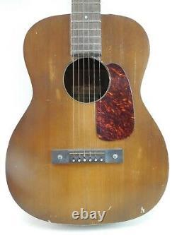 Ultra Rare Vintage Supertone Handcraft Tortoise Shell Pick Guard Acoustic Guitar
