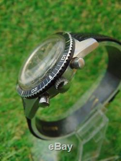 Ultra Rare Vintage Swiss Diver Watch Royce Chrono Landeron 248 Circa 1962 Rr