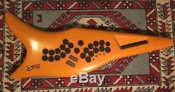 Ultra Rare Vintage TSUMURA JD21 Keytar Drumitar Midi Controller Drum Keyboard