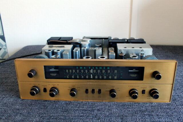 Ultra Rare Vintage Tube Receiver The Fisher Ta-800 Made In Usa 7591a