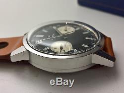 Ultra Rare Vintage Zenith Chronograph A278 Panda Dial 37mm Cal 146dp