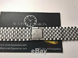 Ultra Rare Vintage Zenith Respirator Nsa Stainles 20mm Watch Bracelet