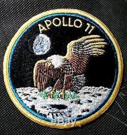 Ultra Rare vintage Apollo 11 Texas Art Embroidery crew patch NASA Collectible
