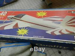 Ultra Sport 40 Balsa Kit By Great Planes. Vintage Rare