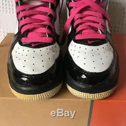 Ultra rare 2004 Vintage Nike Air Force 1 One Mid Dunk UK 5.5 patent pink
