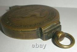 Ultra rare Antique brass Colt Paterson NJ capper