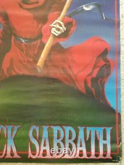 Ultra rare Black Sabbath Original Winterland Productions 1986 Poster vintage