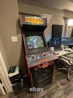 Ultra rare Mortal Kombat II 2 vintage arcade game FULL SIZE NOT 1up