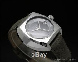 Ultra rare Pneus Wolf Tavannes, automatic vintage watch, TD 1393 Tenor & Dorly