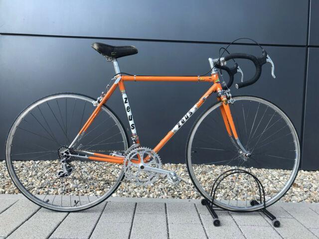 Ultra Rare Authentic Vintage Zeus Bike Orig. 1. Owner Full Zeus Fitted C-t 51cm