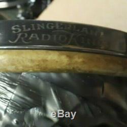Ultra rare, historic vintage Slingerland Radio King 6.5 x10 BDP tom tom drum
