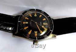 Ultra rare vintage 1960 Vetta diver sub ermetico as rolex longines omega zenith