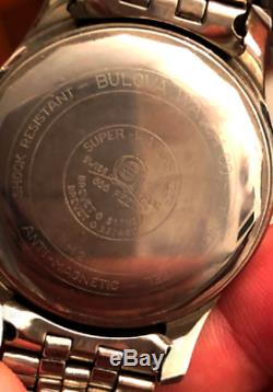Ultra rare vintage 1962 BULOVA compressor diver sub as omega rolex longines uhr