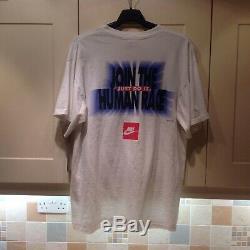 Ultra rare vintage Nike Instant Karma Human Race Tee in XL 1990s John Lennon