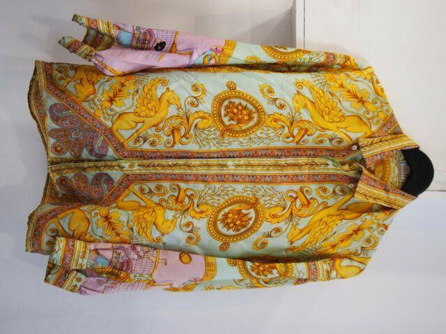 Versace Sport Vintage Ultra Rare Silk Shirt