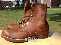VINTAGE 1960's, NEW, ULTRA RARE RED WING 947 HERITAGE WORK BOOTS, DEAD STOCK