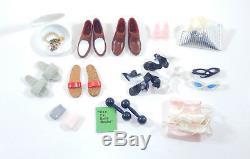 VINTAGE Barbie 1960 1961 Ken Ponytail Black Case Clothing Shoes ULTRA RARE