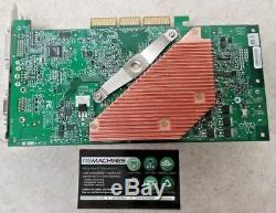 VINTAGE RARE Geforce Fx 5800 Ultra AGP GPU Video Card Great Condition TESTED